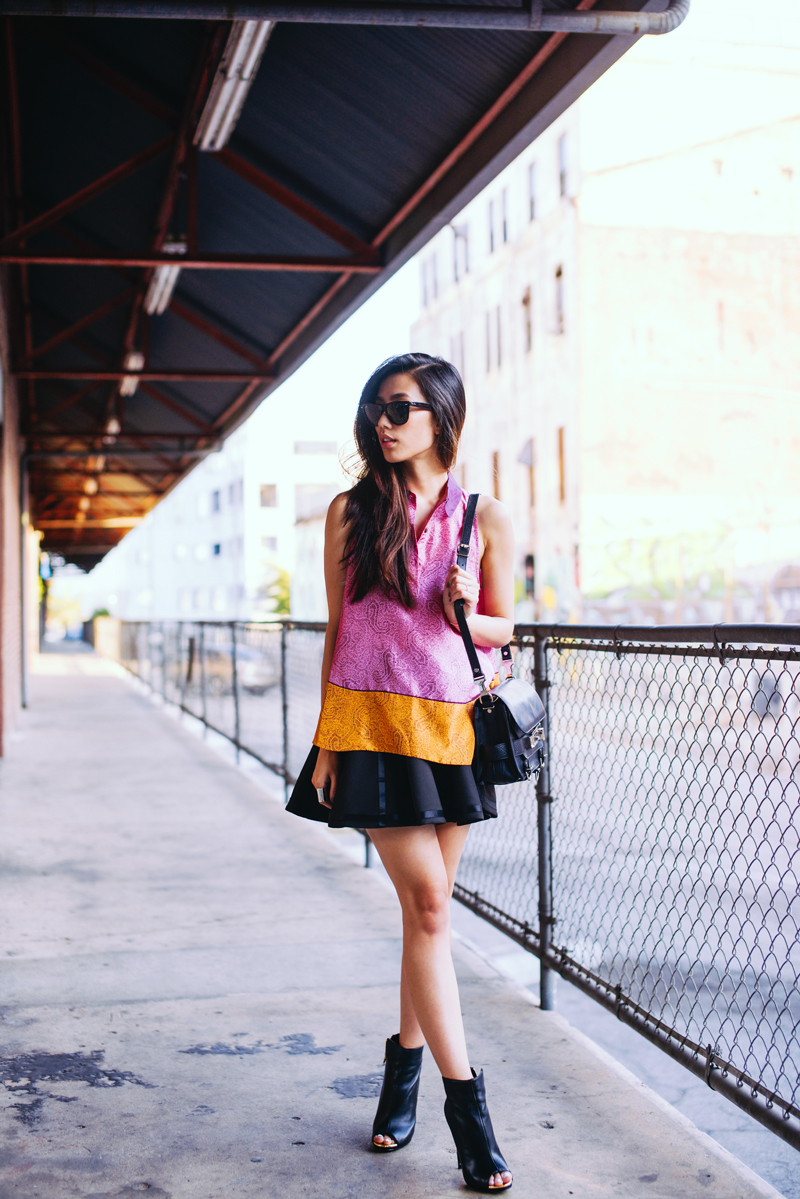 Neon Blush, Steve Madden, Dianna boots, leather high heels, Jenny Ong