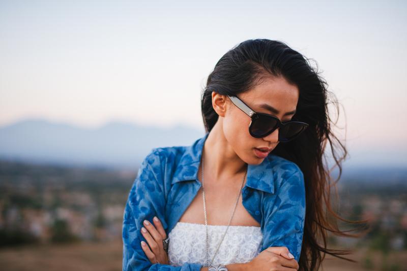 Neon Blush, Style Stalker, Liv Los Angeles, floral button up, lace bodysuit, Los Angeles