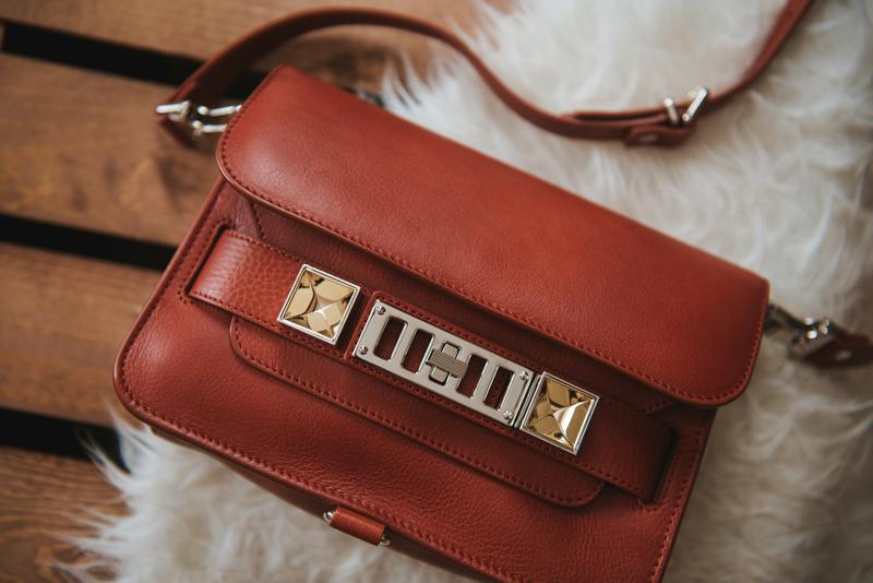 Neon Blush, Proenza Schouler, PS11 mini, Saddle PS11, leather bags