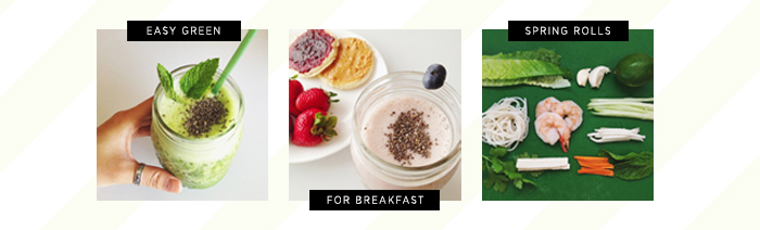 Neon Blush, Jenny Ong, smoothies, healthy, eating right, fruits, chia seeds