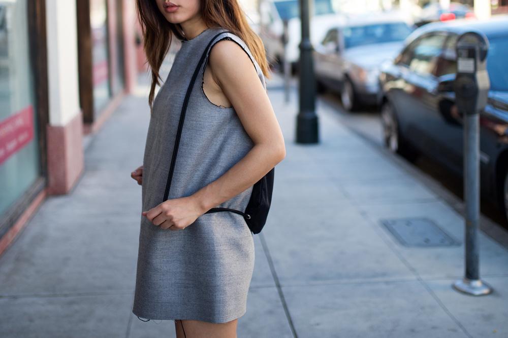 Neon Blush, Nordstrom Rack, Lanvin dress, shopping smarter, Adidas shell toe shoes, white sneakers