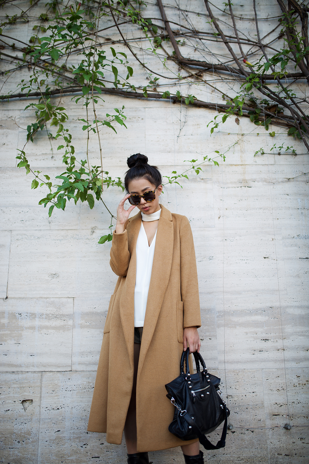 Neon Blush, Topshop, winter coats, long duster coats, camel woolen coats