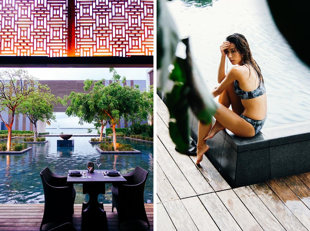 Neon Blush, Onia, Cancun, Nizuc Resort and Spa, Mexico, swimwear travel