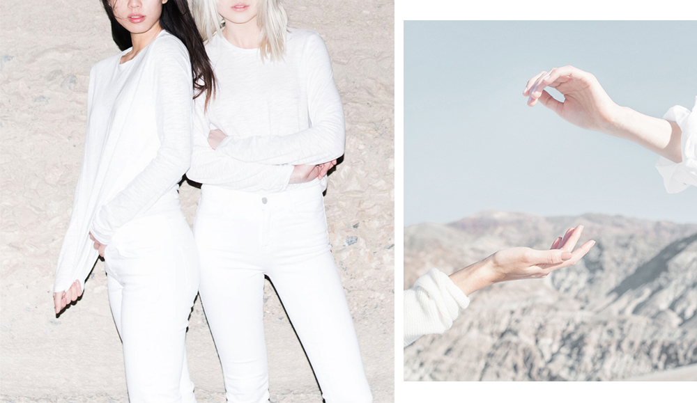 Neon Blush, J Brand, Blanc slate, all white style, Salt Flats