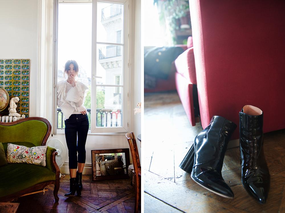 Neon Blush, Sigerson Morrison, Storets, Paris France, Theyskens Theory, Adornmonde