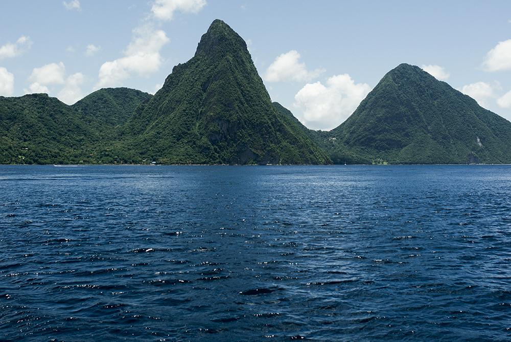 Neon Blush, Heidi Klein swimwear, St. Lucia, Capella Marigot Bay resorts, Caribbean Islands