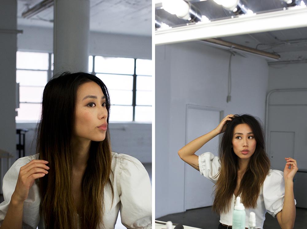 Neon Blush, hair tips, dry shampoo, DryBar